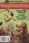 The Magazine of Fantasy and Science Fiction, May/June 2016.