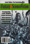 The Magazine of Fantasy and Science Fiction, July/August 2016.